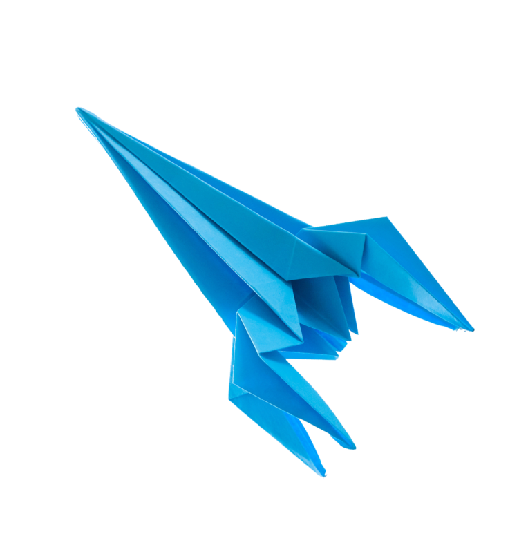Origami-Pfeil